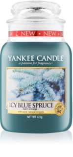 Yankee Candle Icy Blue Spruce vela perfumado 623 g Classic grande
