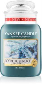 Yankee Candle Icy Blue Spruce dišeča sveča  623 g Classic velika