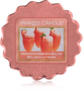 Yankee Candle White Strawberry Bellini vaxsmältning
