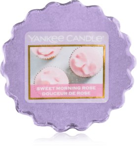 Yankee Candle Sweet Morning Rose cera para lámparas aromáticas 22 g