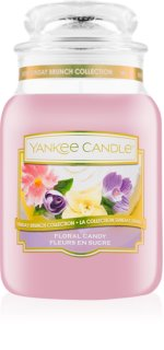 Yankee Candle Floral Candy vela perfumado 623 g Classic grande