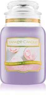 Yankee Candle Sweet Morning Rose świeczka zapachowa  623 g Classic duża