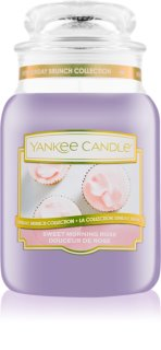 Yankee Candle Sweet Morning Rose Scented Candle 623 g Classic Large