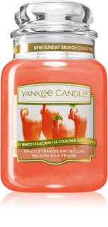 Yankee Candle White Strawberry Bellini duftkerze  Classic groß