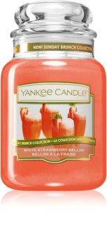 Yankee Candle White Strawberry Bellini vela perfumada Classic grande