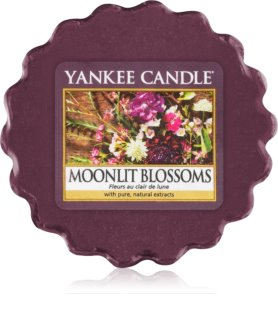 Yankee Candle Moonlit Blossoms Duftwachs für Aromalampe 22 g
