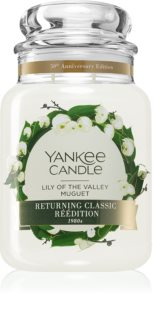 Yankee Candle Lily of the Valley vela perfumada Classic grande