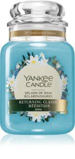 Yankee Candle Splash of Rain vela perfumada Classic grande