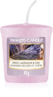 Yankee Candle Dried Lavender & Oak dišeča sveča