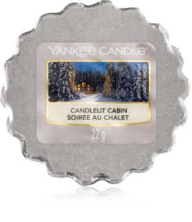 Yankee Candle Candlelit Cabin vosek za aroma lučko