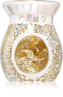 Yankee Candle Gold and Pearl glazen geurlamp