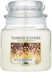 Yankee Candle All is Bright vela perfumado 411 g Classic médio