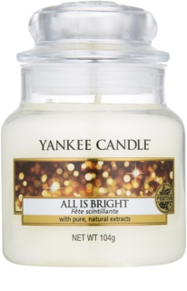 Yankee Candle All is Bright dišeča sveča  105 g Classic majhna