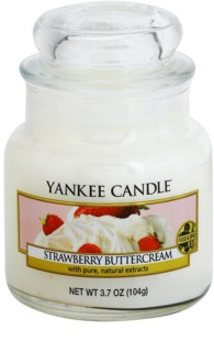 Yankee Candle Strawberry Buttercream mirisna svijeća 104 g Classic mala