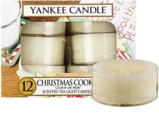 Yankee Candle Christmas Cookie čajová sviečka 12 x 9,8 g