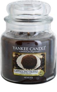 Yankee Candle Cappuccino Truffle vonná svíčka 411 g Classic střední
