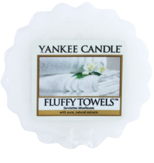 Yankee Candle Fluffy Towels κερί για αρωματική λάμπα 22 γρ