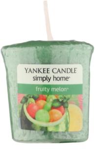 Yankee Candle Fruity Melon velas votivas 49 g
