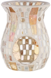 Yankee Candle Gold Wave Mosaic Glazen geurlamp