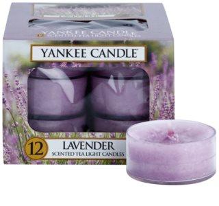 Yankee Candle Lavender čajová sviečka 12 x 9,8 g