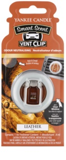 Yankee Candle Leather mirisi za auto clip