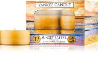 Yankee Candle Sunset Breeze čajová svíčka 12 x 9,8 g