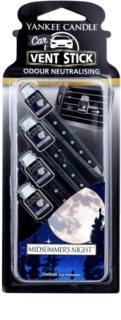 Yankee Candle Midsummer´s Night parfum pentru masina 4 buc