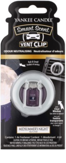 Yankee Candle Midsummer´s Night Désodorisant voiture 4 ml clip