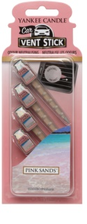 Yankee Candle Pink Sands Car Air Freshener 4 pc