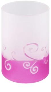Yankee Candle Purple Scroll Szklany świecznik tealight