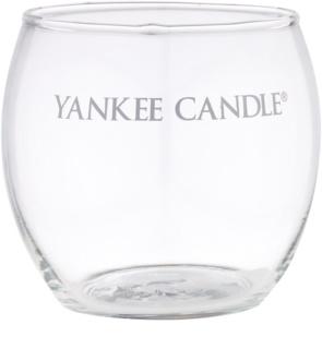 Yankee Candle Roly Poly Üveg gyertyatartó fogadalmi gyertya alá   I. (Clear)