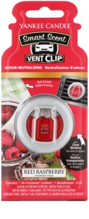 Yankee Candle Red Raspberry ambientador auto 4 ml clip