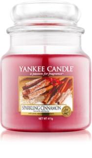 Yankee Candle Sparkling Cinnamon Αρωματικό κερί 411 γρ Κλασικό μέτριο