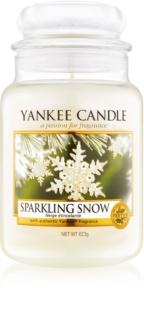 Yankee Candle Sparkling Snow ароматна свещ  623 гр. Classic голяма