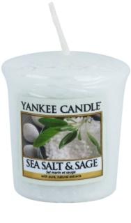 Yankee Candle Sea Salt & Sage votivna sveča 49 g