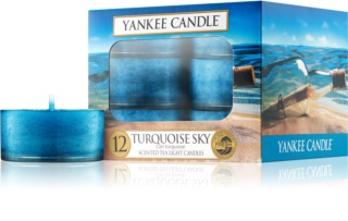 Yankee Candle Turquoise Sky čajová svíčka 12 x 9,8 g