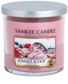 Yankee Candle Summer Scoop Duftkerze  198 g Décor klein