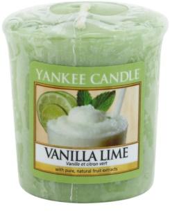 Yankee Candle Vanilla Lime candela votiva 49 g