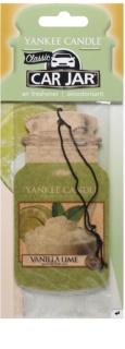 Yankee Candle Vanilla Lime désodorisant voiture à suspendre