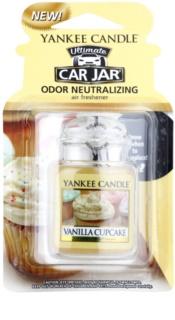 Yankee Candle Vanilla Cupcake odświeżacz do samochodu   wiszące