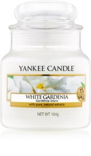 Yankee Candle White Gardenia vela perfumado 104 g Classic pequeno