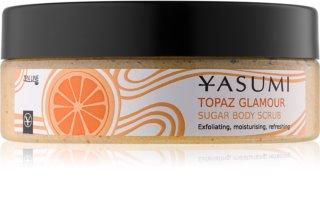 Yasumi Body Care Topaz Glamour απαλυντική απολέπιση για το σώμα