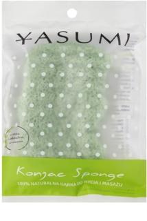 Yasumi Konjak Aloe Vera м'який спонж для сухої та чутливої шкіри
