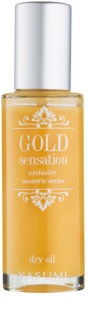 Yasumi Gold Sensation Dry Oil with Gold Particles for Face, Body and Hair