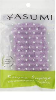 Yasumi Konjak Lavender jemná mycí houbička pro všechny typy pleti