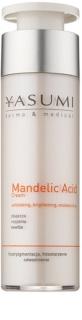 Yasumi Dermo&Medical Mandelic Acid rozjasňující hydratační krém pro obnovu povrchu pleti