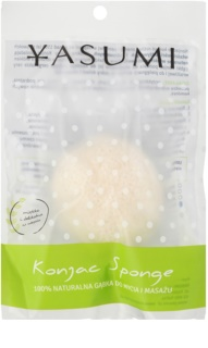 Yasumi Konjak Pearl Gentle Facial Sponge for All Types of Skin Including Sensitive Skin