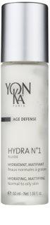 Yon-Ka Age Defense N°1 Hydraterende Fluid met Matt Effect voor Normale tot Vette Huid