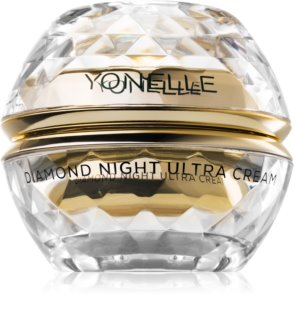 Yonelle Diamond Ultra Nourishing Regenerating Day and Night Cream Anti Wrinkles Around The Eyes, The Mouth And On The Brow