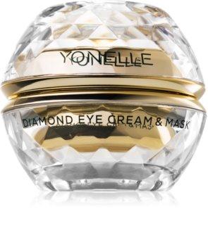 Yonelle Diamond Cream & Mask maschera in crema contorno occhi contro rughe e occhiaie